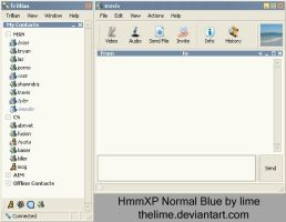 HmmXP Blue Trillian 3.0 by thelime