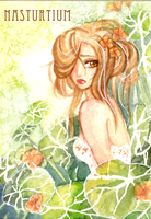 Nasturtium-TRADED- Example by April-LilyCommission
