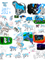 Blizzard 2007 - 2012 by TehBlizzyWolf