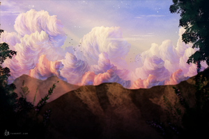 Cloudscape by TawnART