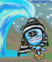 Chibi Lord Shiva by angelacapel