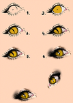 Cat Eyes - Tutorial by Kipichuu