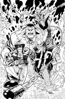 New Fantastic Four Inks by seanforney
