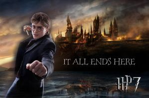 Harry DH Wallpaper by jmpotter