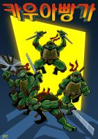 TMNT revised by sirandal