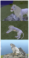 FH Ice the Albino Lion Preset by starrynightsoul