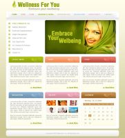 Web Template for Client 1 by djnick2k