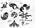 RB: tribal tattoo concepts by Kaeyoh