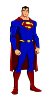 DC:New Earth Superman Animated by kyomusha