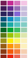Facebook Colors by Writer-Colorer