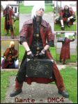 Cosplay :: Dante Collage by Nanuka