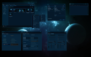 Starcraft 2 Windows Theme WIP by yorgash