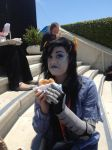Can't A Troll Enjoy Her Sandwhich In Peace? by XD-eviltoast-XD