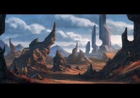 Environment Painting by draken4o