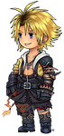 FF3 Style Tidus by roseannepage