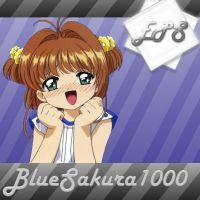 EPS BlueSakura1000 ICon by xXLolipopGurlXx