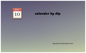 calender by dip by dip-priest