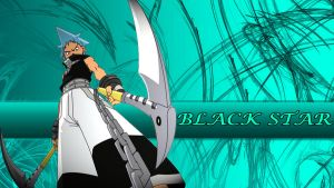 Black Star Wallpaper by NenshoOkami