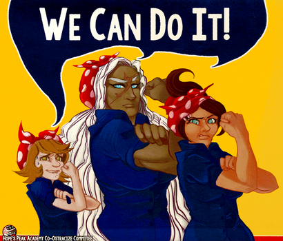 We Can Do It! (Dangan Ronpa) by comerecupcakes