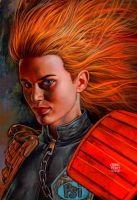 Judge Anderson  2000ad Cover by GlennFabry