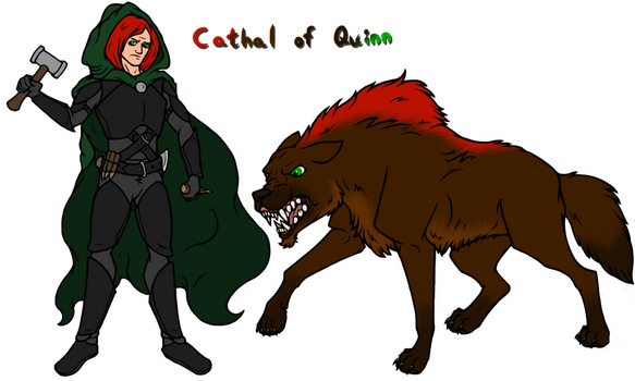 Mercs: Cathal of Quinn by JustaMerc
