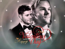 Happy Supernatural Valentine's Day (version 2) by Nadin7Angel