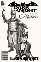 Batman and Catwoman: Black and White by Jasong72483