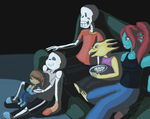 Movie Night by BandoleraRoja