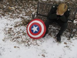 Steve Rogers Cosplay -- 1 by sports-cosplay