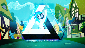 Vinyl Scratch | Wallpaper by arkkukakku112
