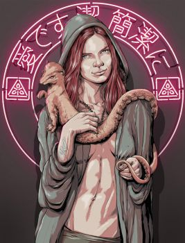 Lady with an Ermine by graphic-staff