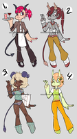 Demon Boy Adopts [CLOSED] by Sneaksneaksneak
