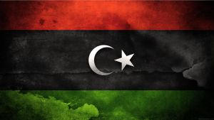 Libya Flag by think0