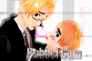 MMD-Bubble gum POP by XigbarsLover9