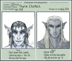 Then And Now: Sha'en by Jerepasaurus