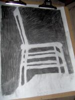 Charcoal Chair by naaxha