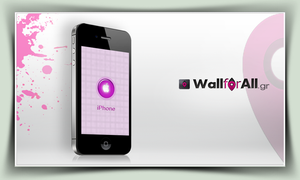 iPhone purple by WallforAll