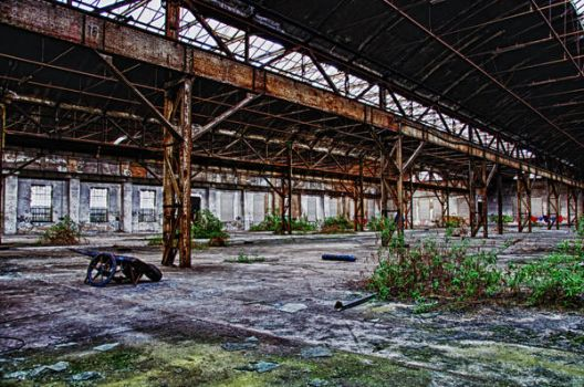 old factory by irish1983