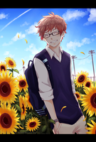 sunflower boy by baenana
