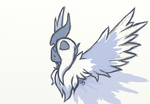 Mega Absol Sketchy by bootsa81