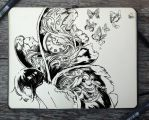 #254 Metamorphosis by 365-DaysOfDoodles