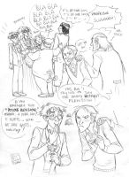 Slughorn party_HBP by roby-boh