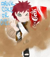 gaara coke ad by onimushawn