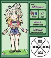 Traveler Edelweiss by Animated123