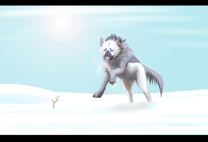 :AT: WOOF by AlphaNightstorm
