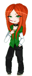 Pagedoll pixel Commission for Shakahnna by AruOwlsArts