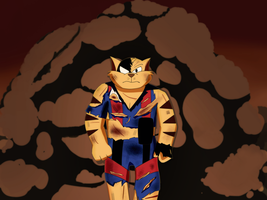 SWAT Kats - Explosion survivor by coDDRy