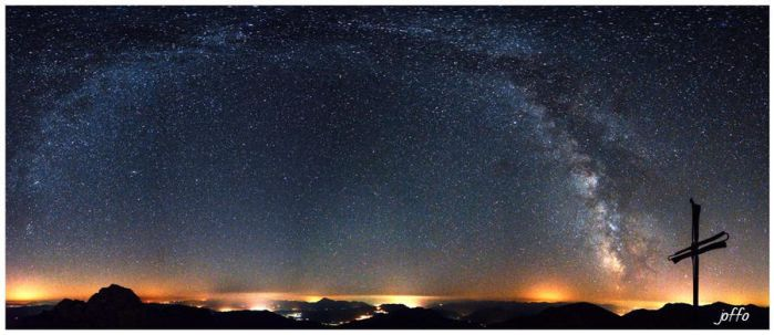 Milky Way Panorama by joffo1