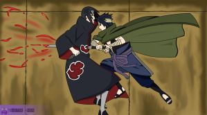 Itachi Vs Sasuke by MasterAmin