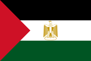 Combined flag of language: Arabic by hosmich